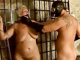 granny getting punished and pierced difficult