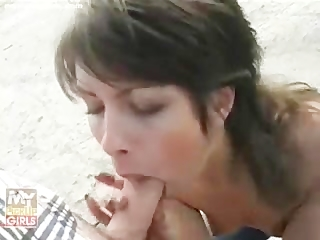 Beautiful Teen In A Blowjob