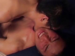 pretty eastern  gay guy blows his lovers huge