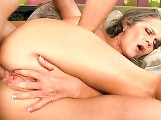 desperate older vixen plays with her astonishing