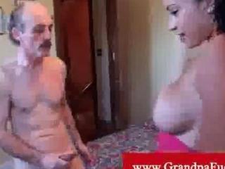 instatible latino grabbing granny boy dick