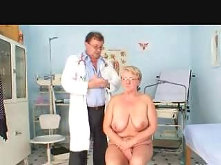 medic examines the heavy ancient chick