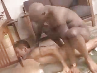 twink barebacked by large dark dick.
