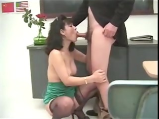 lu chan is drilled by her teacher!!