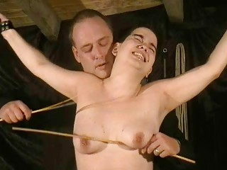 extreme eastern  spanking and screaming rigid