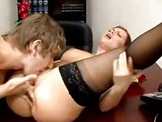 salacious secretaries licking dick