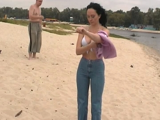 outside nudity at shore naked