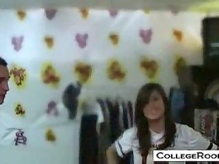 university coeds doing it inside the dorm