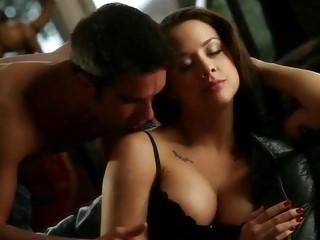 Hot pornstar Chanel Preston lingerie sex