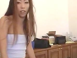 asian young lady ayako delivers hot blowjob
