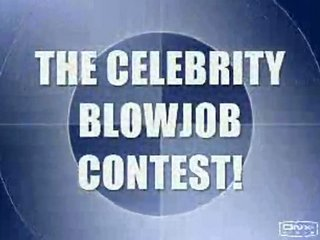 celebs dick sucking competition
